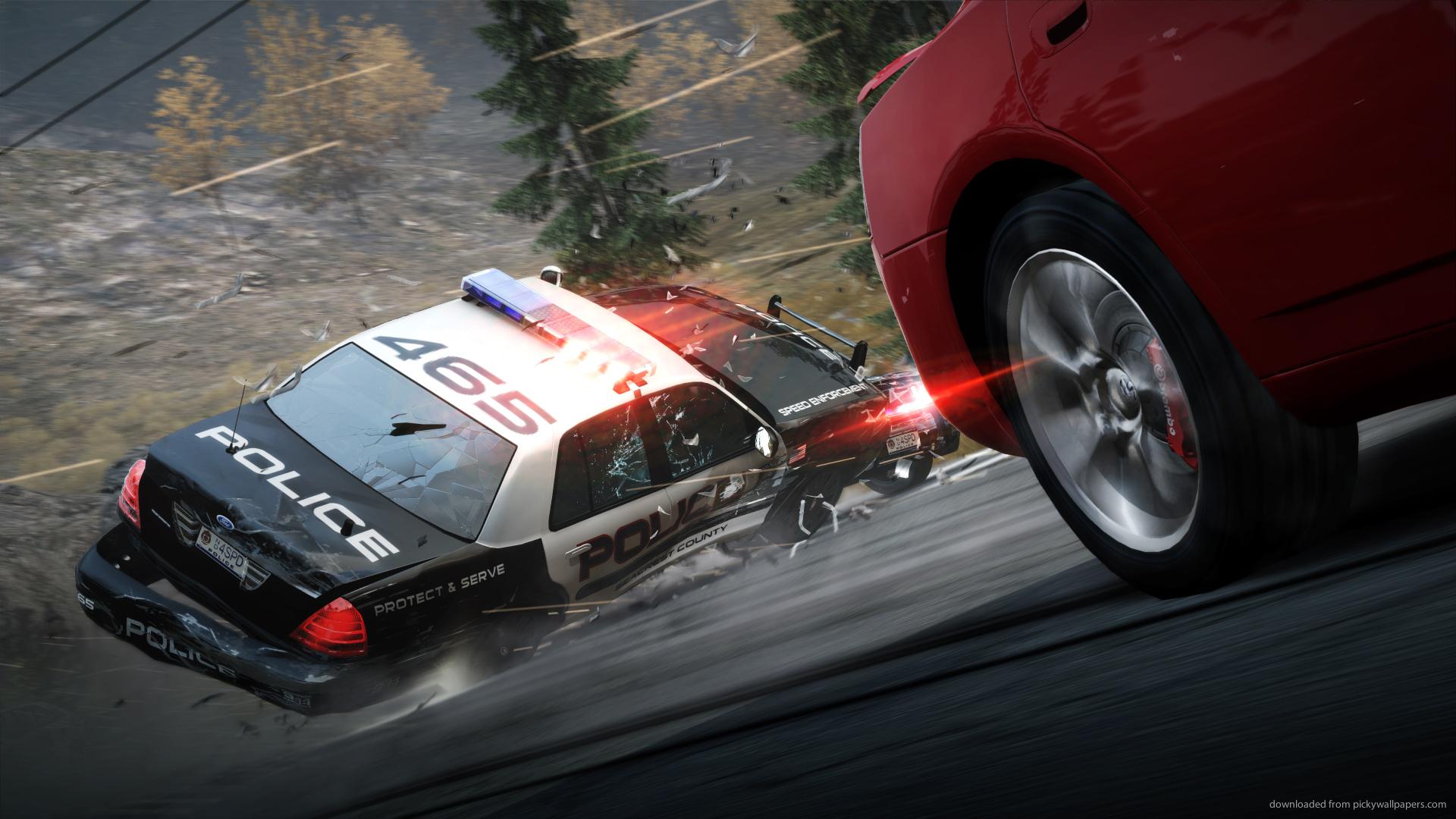 Cool screensavers Police screensaver 1920x1080