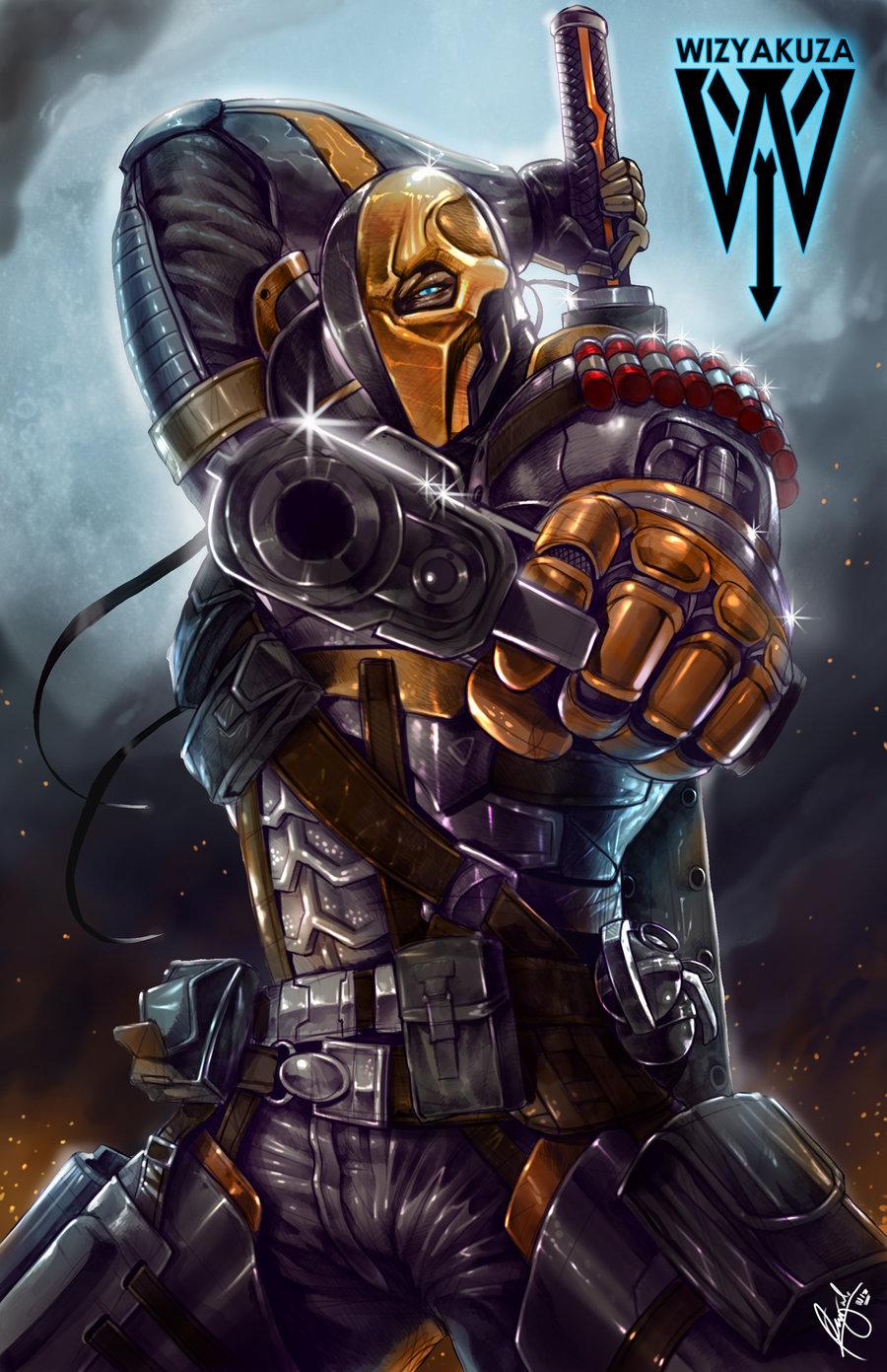 Deathstroke by wizyakuza 900x1391