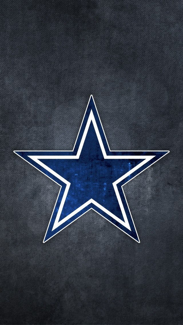 Dallas cowboys wallpaper for GS4 phones Logo Dallas cowboys wallpaper 640x1136