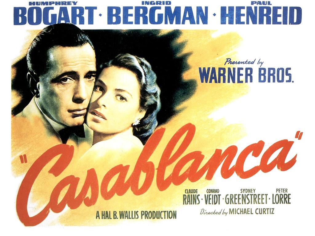 Casablanca Wallpaper   Classic Movies Wallpaper 5867947 1024x768