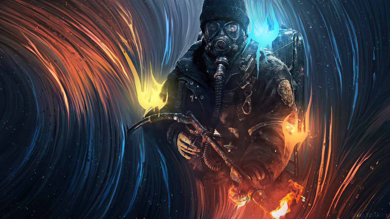 Tom Clancy The Division   wallpaper by matrix2525 1280x720
