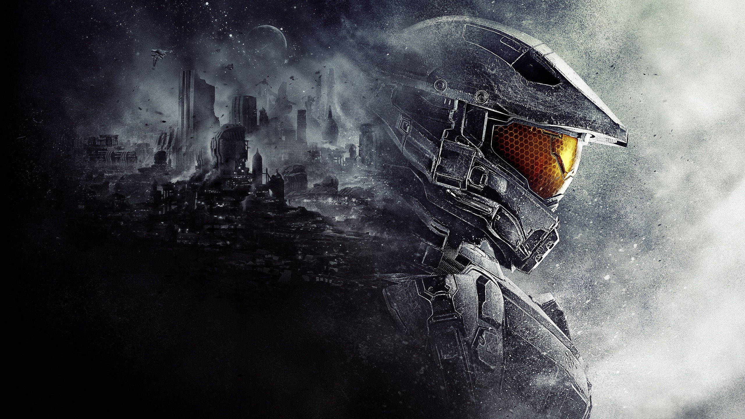 Halo 5 Master Chief Halo 343 Industries Video Games 2560x1440