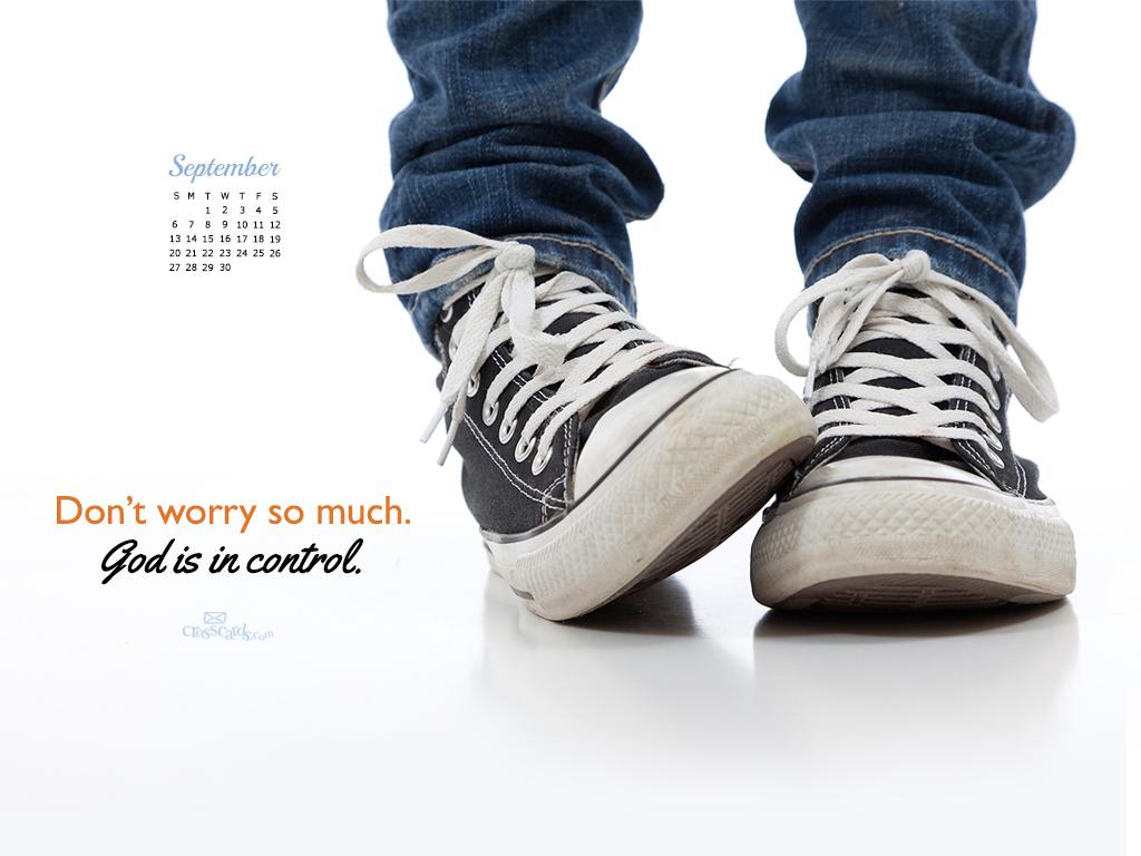 September 2015   God in Control Desktop Calendar  Monthly 1024x768