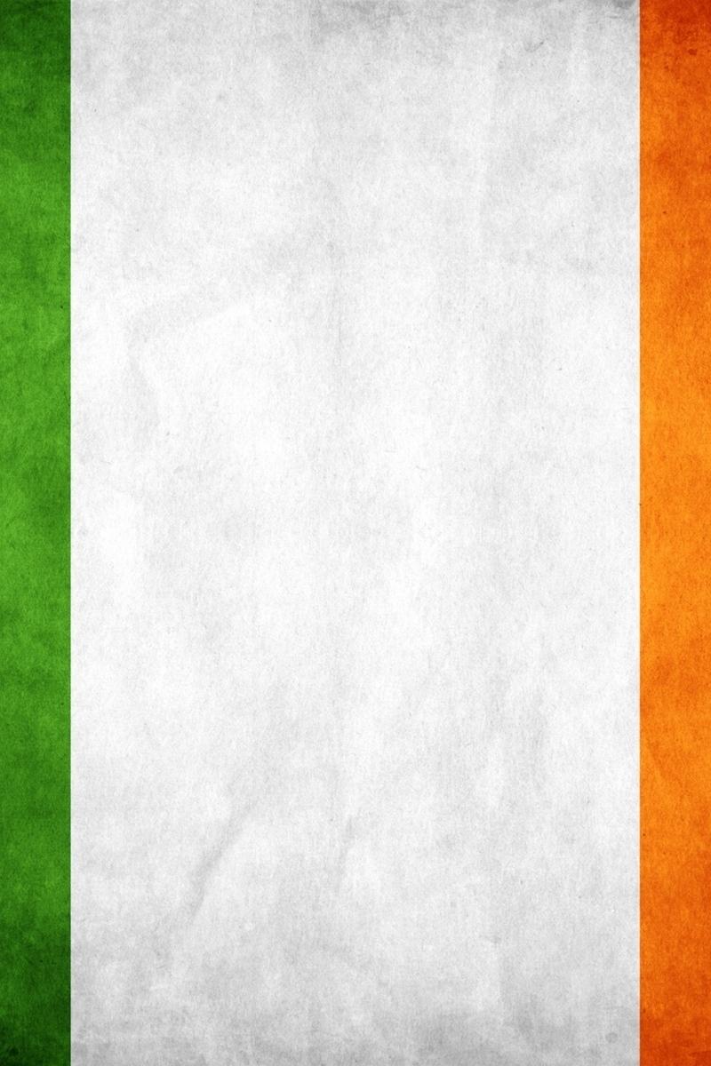 Download wallpaper 800x1200 ireland flag colors background 800x1200