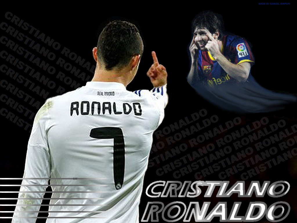 Free Download Lionel Messi Vs Cristiano Ronaldo Wallpapers 2012 2013 Hd Wallpapers 1024x768 For Your Desktop Mobile Tablet Explore 46 Messi And Ronaldo Wallpapers Messi Wallpaper Messi Neymar Ronaldo