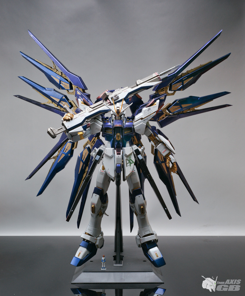PG 160 Strike Freedom Gundam Modeled by Team Axis GB Full 846x1024