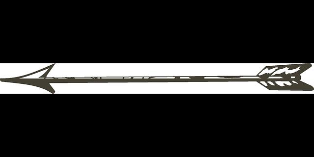 arrow bow old shoot weapon feathers symbol arrow shapes arrows 640x320