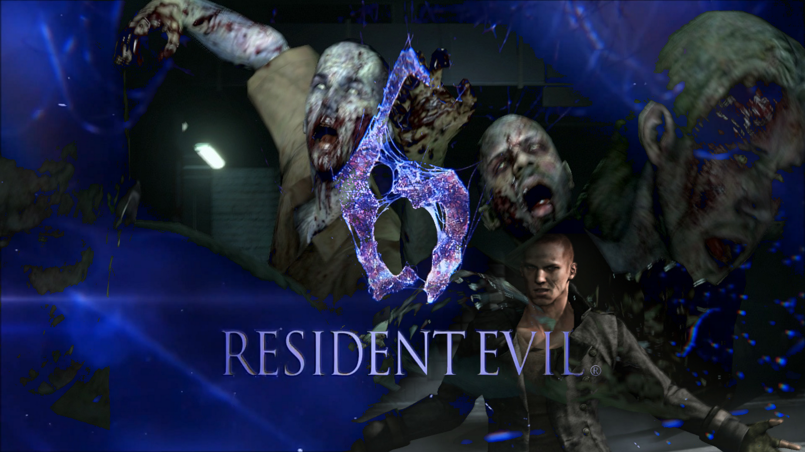 article Games HD Wallpaper with the title Resident Evil 6 Wallpapers 1600x900