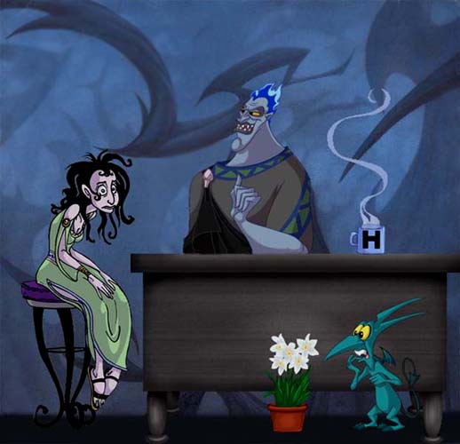 Disneys Hercules Hades Echoe by snosages 518x500
