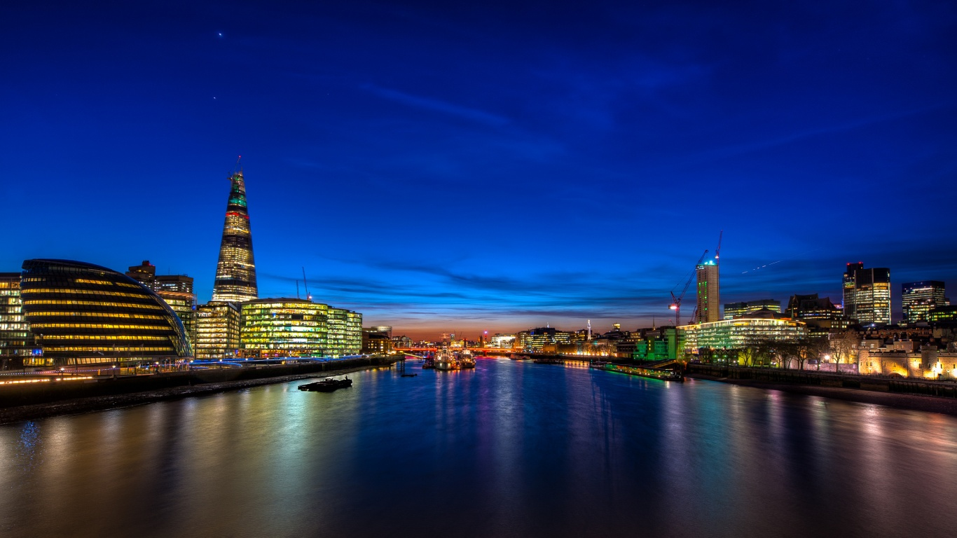London Skyline 1366 x 768 Download Close 1366x768