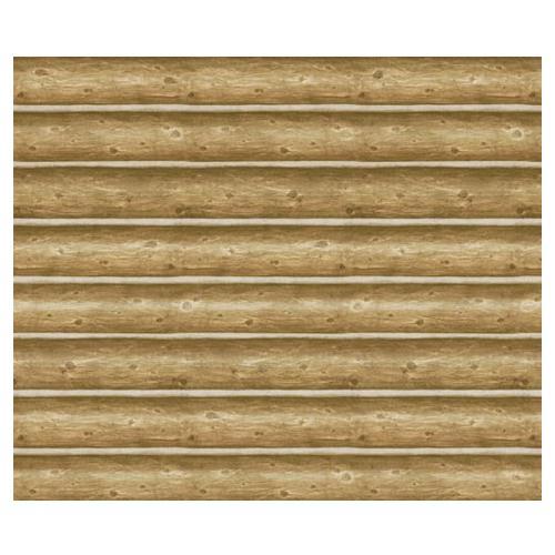 Log Cabin Wallpaper Mural 500x500