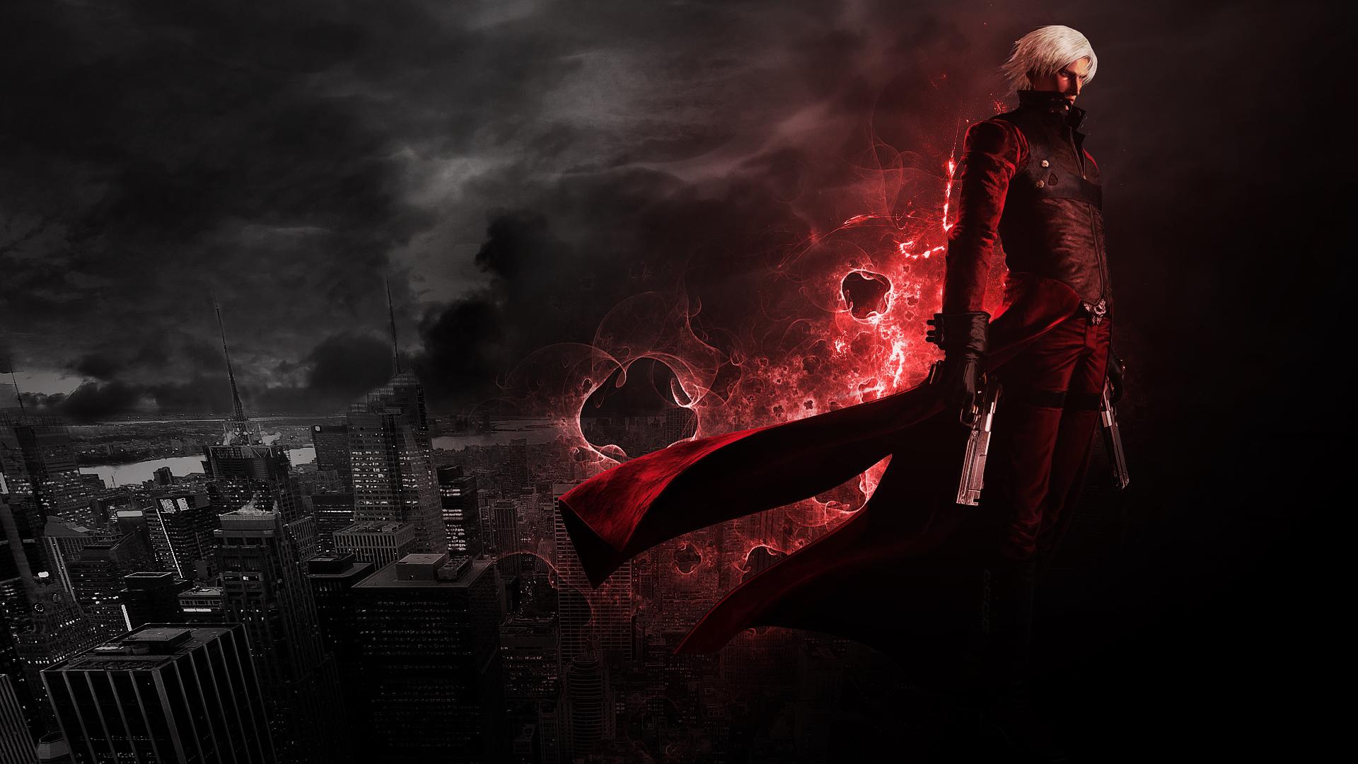 Devil May Cry 2 Dante Full HD Desktop Wallpapers 1080p 1920x1080