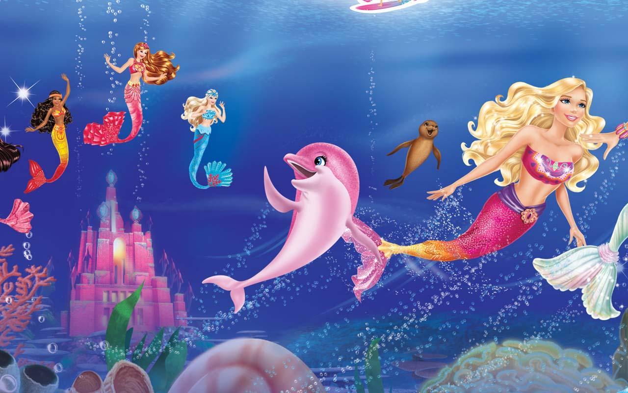 3D Mermaid Wallpaper