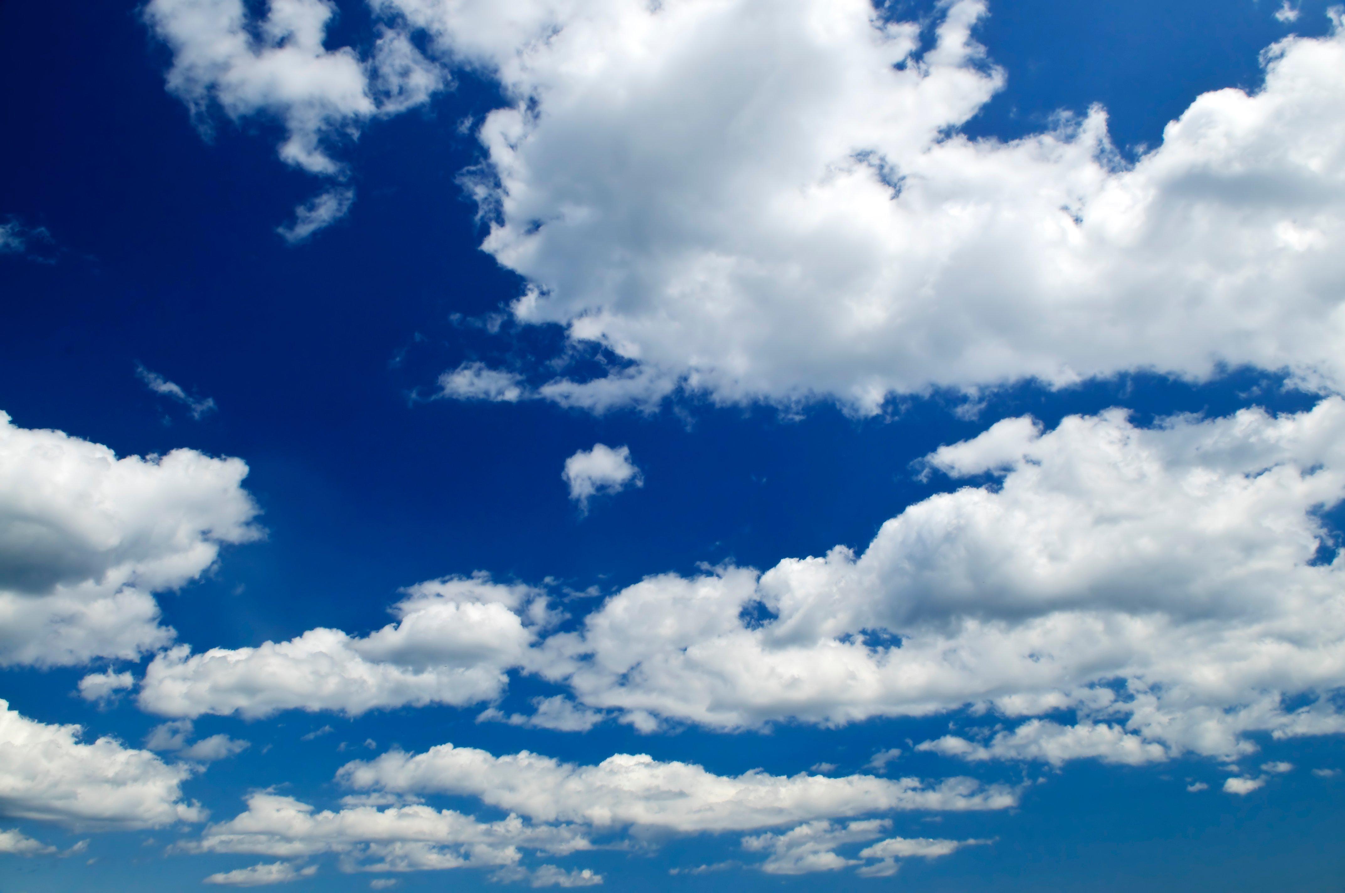blue sky with clouds wallpaper wallpapersafari