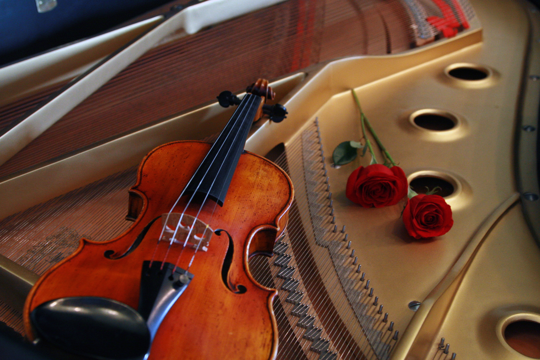Violin Piano Wallpaper Inside The By Nateeboy68 1728x1152