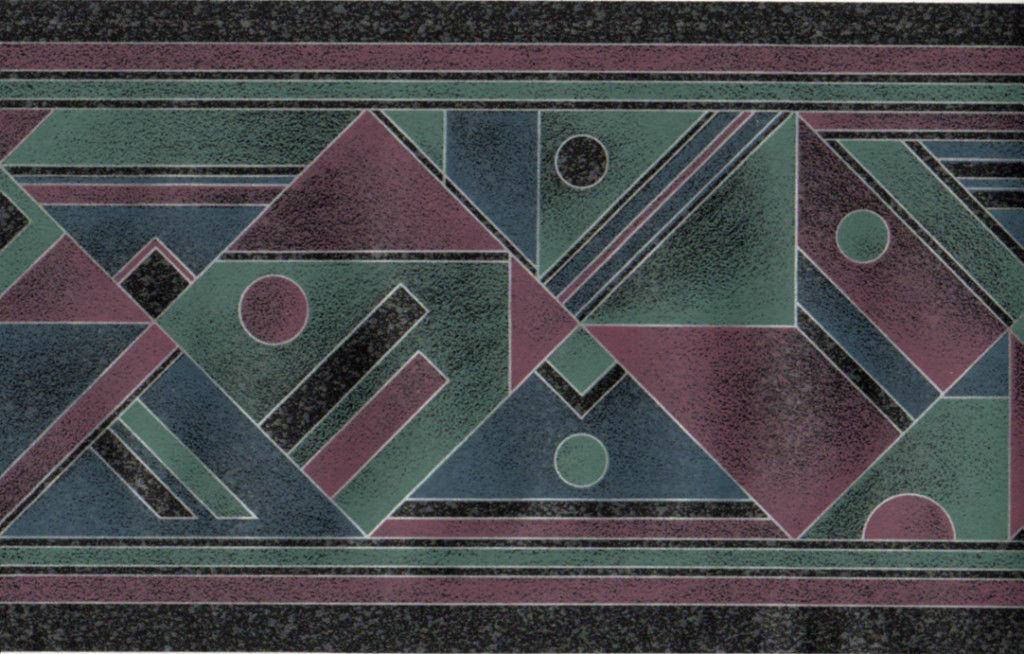 modern wall paper border geometric shapes wallpaper border pattern 1024x654
