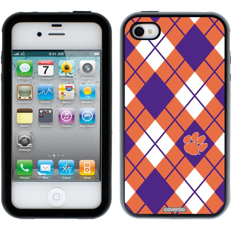 Clemson   Argyle Clemson design on iPhone 4s 4 Guardian Case by 800x800