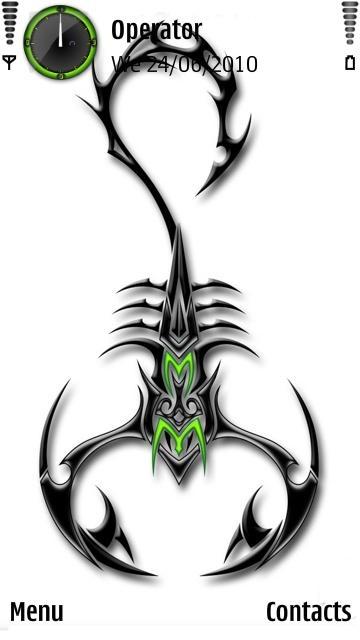 Tribal Scorpion Tattoo Designs Art And 360x640