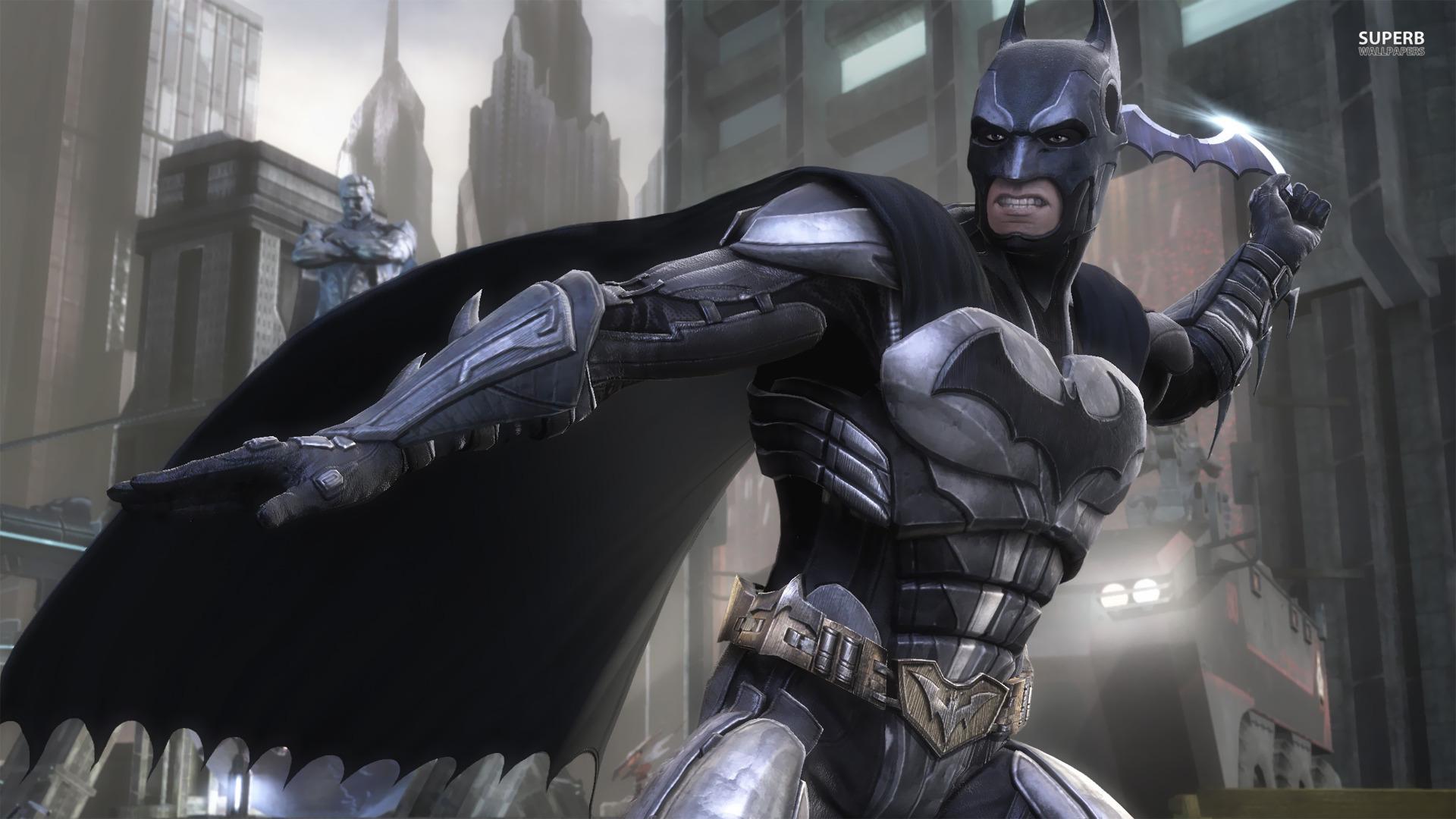 Injustice Gods Among Us Wallpaper Batman 1920x1080
