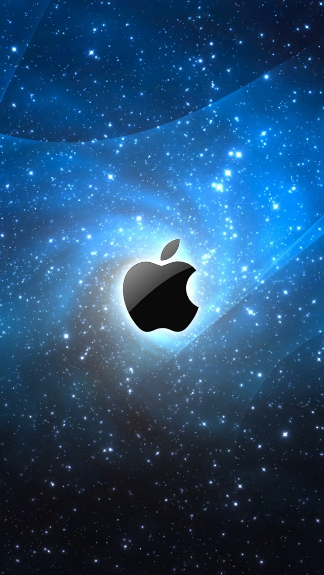 Apple Galaxy Blue iPhone 5s Wallpaper Download iPhone Wallpapers 640x1136