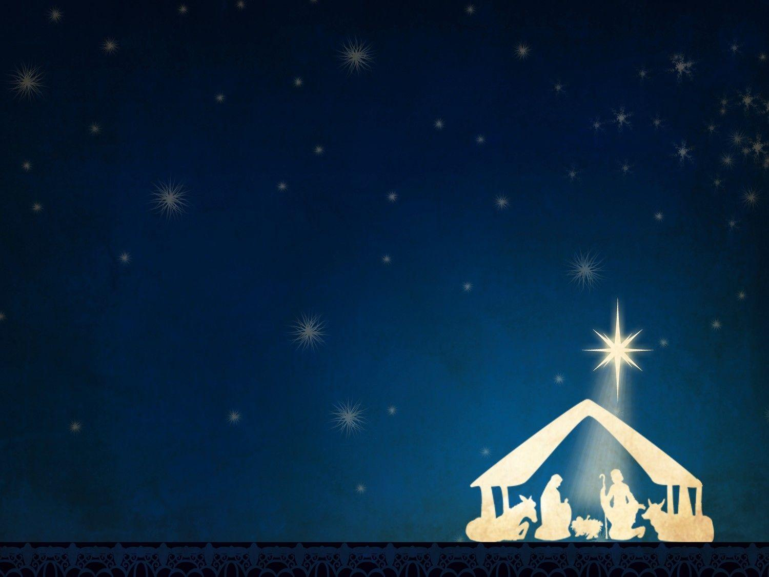 Nativity Scene Backgrounds 1500x1125