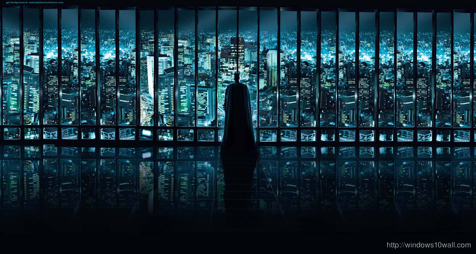 City Panoramic Batman Background Wallpaper windows 10 Wallpapers 1920x1024