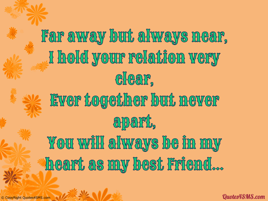 You will always be in my heart as my best Friend 1024x768