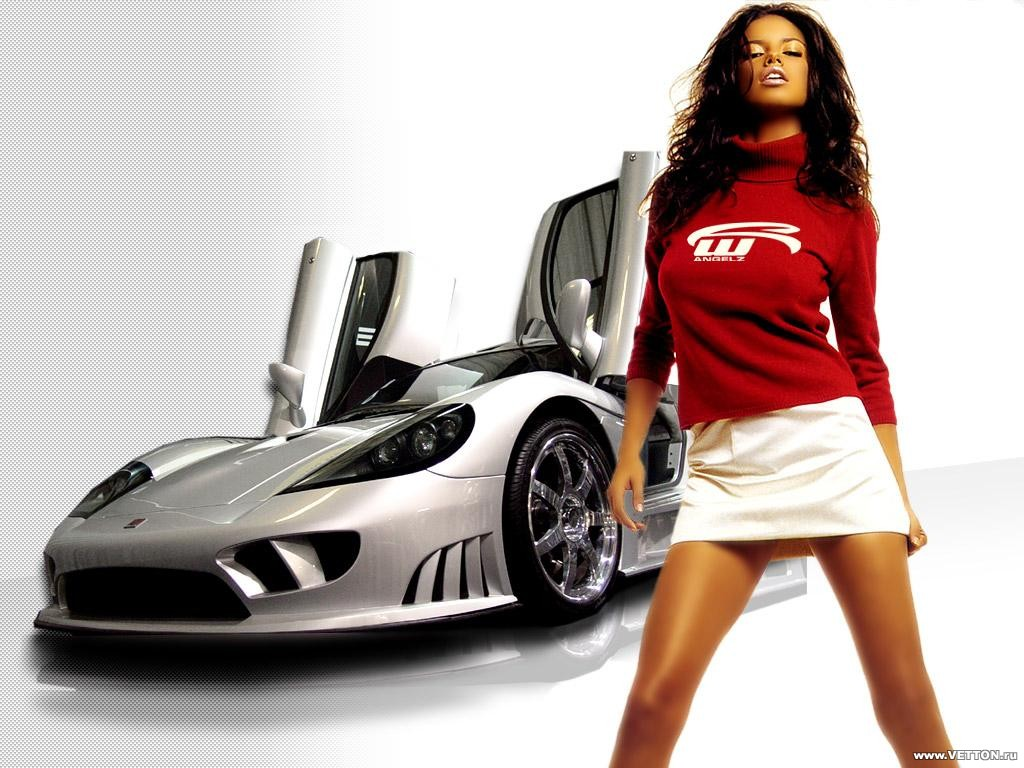 girls and sports cars wallpapers girl and race car wallpaper girl and 1024x768