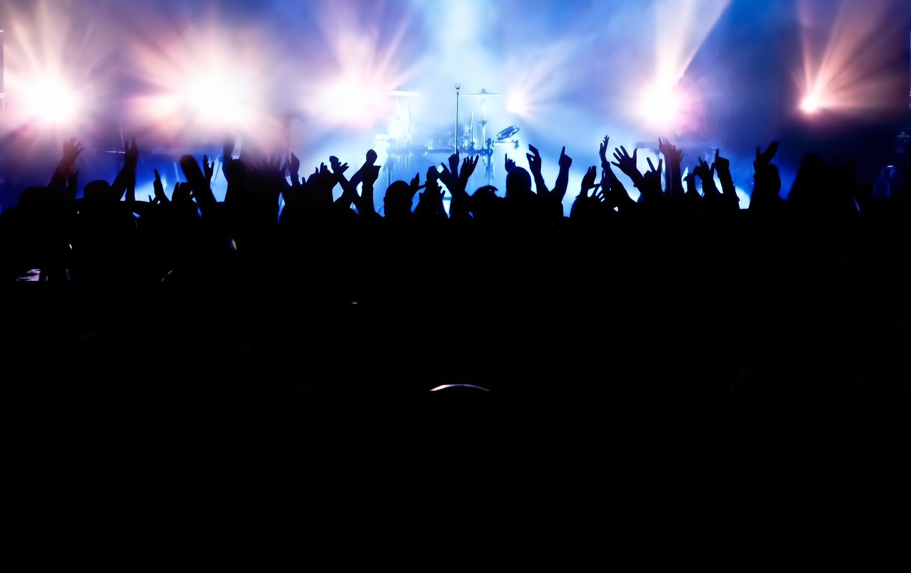 Crowd wallpaper wallpapersafari - Concert crowd wallpaper ...