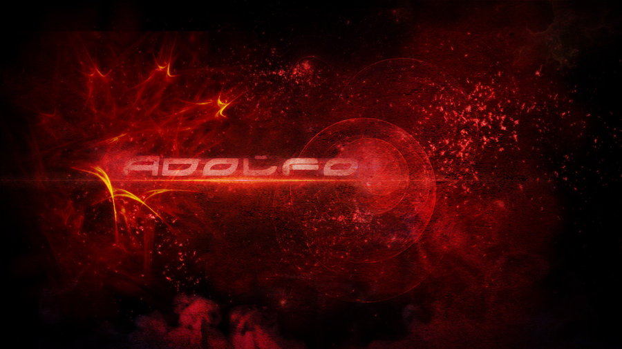 Red Space Wallpaper by Adolfo2709 on deviantART 900x506