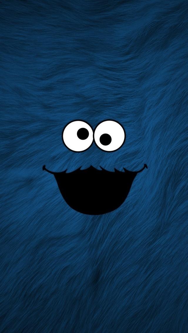 48 Cookie Monster Iphone Wallpaper On Wallpapersafari