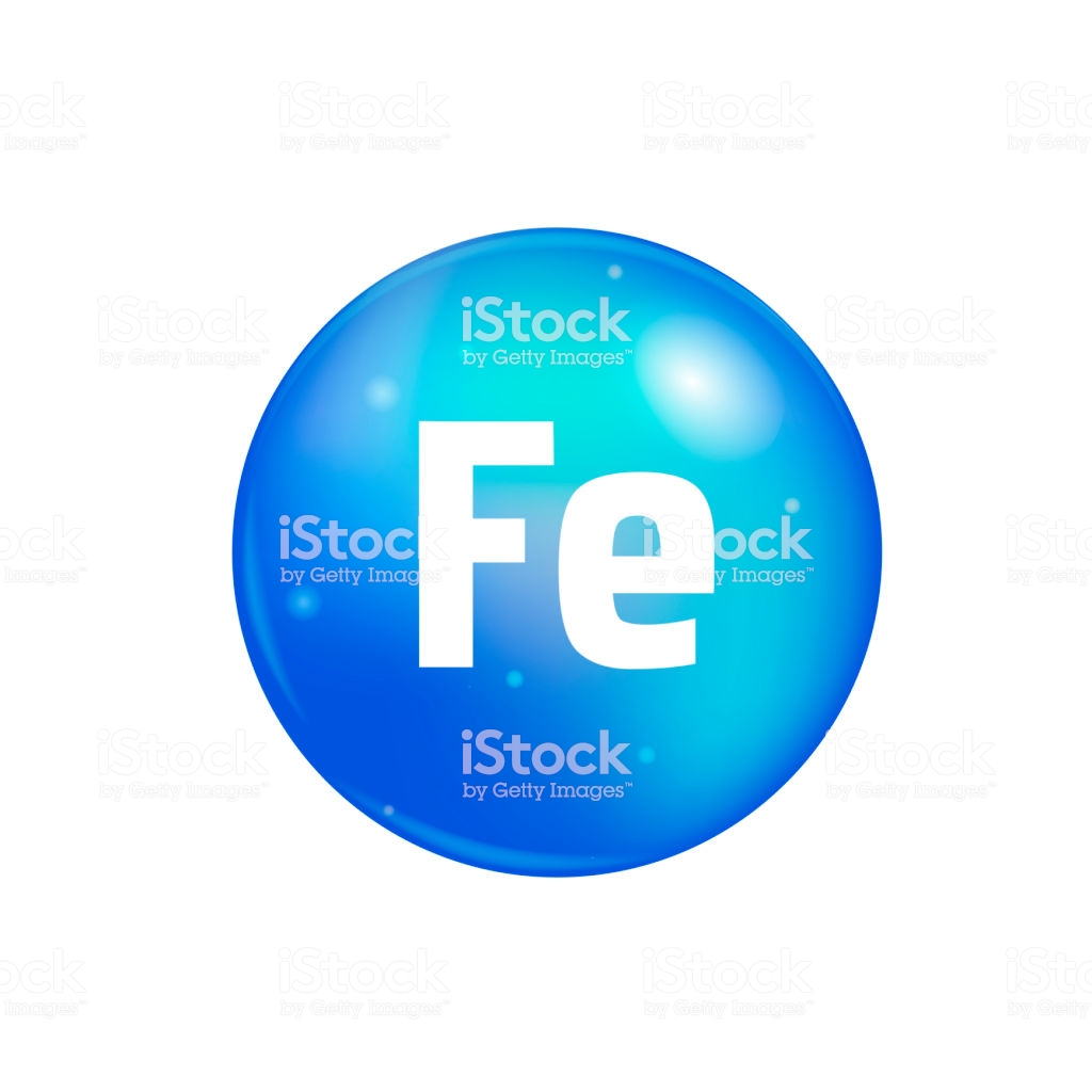 Vitamin Fe Pill Isolated On White Background Icon Vector Stock 1024x1024