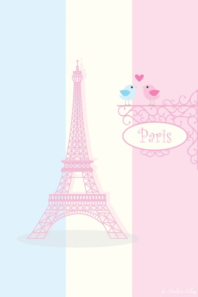 Cute paris wallpaper Wallpapers Pinterest 640x960