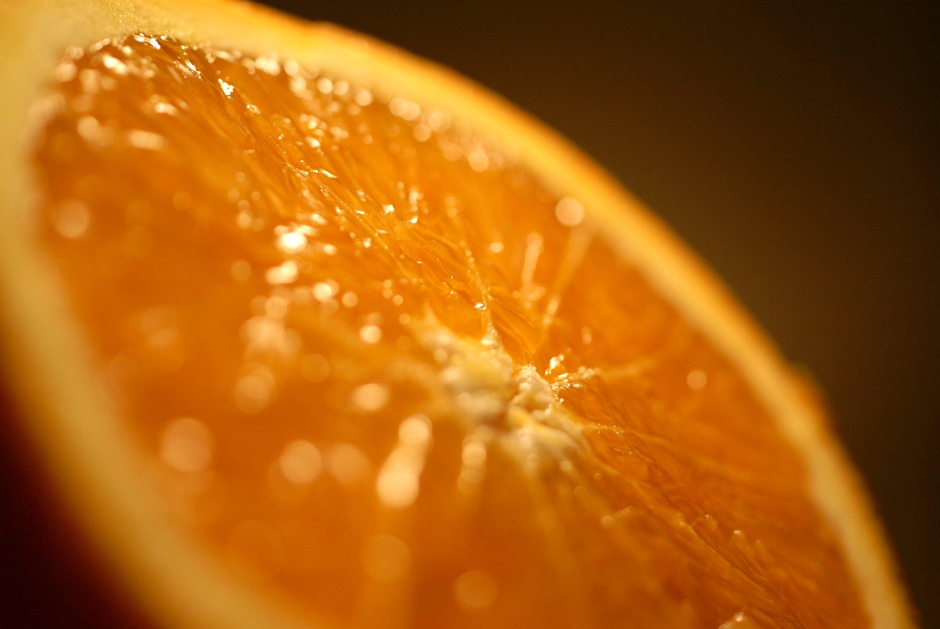 Orange Macro Wallpaper HD wallpapers   Orange Macro Wallpaper 1920x1285