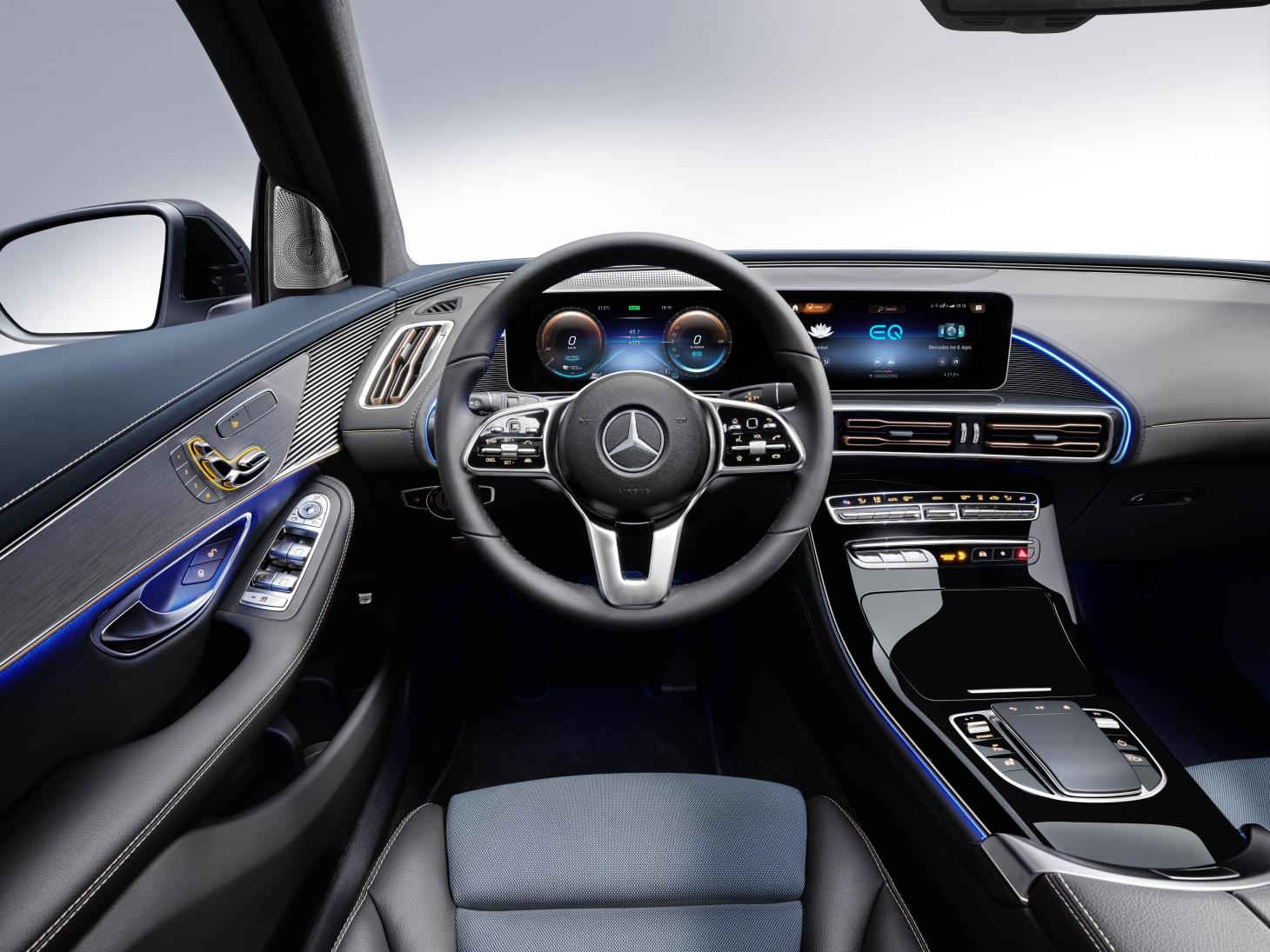 Mercedes electric dreams become reality with EQC Wallpaper 1460x1095