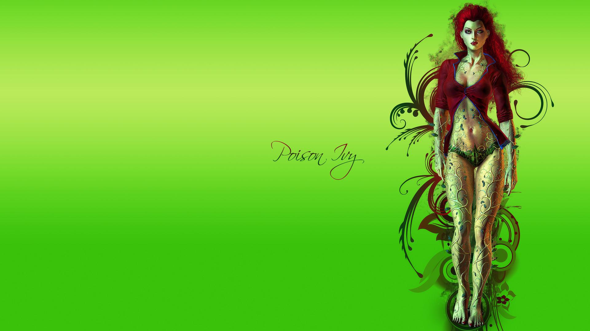 Sexy Poison Ivy Wallpaper - Wallpapersafari-3427