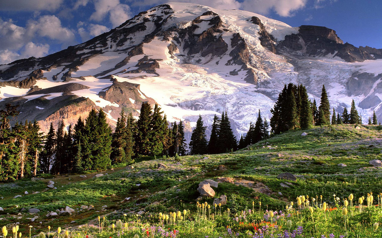 Snow Mountain Scenery Backgrounds on this Scenery Backgrounds website 1280x800