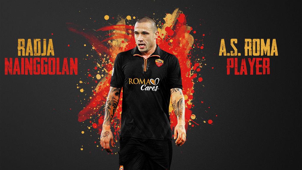 Radja Nainggolan AS Roma Player by SentonB 1024x576