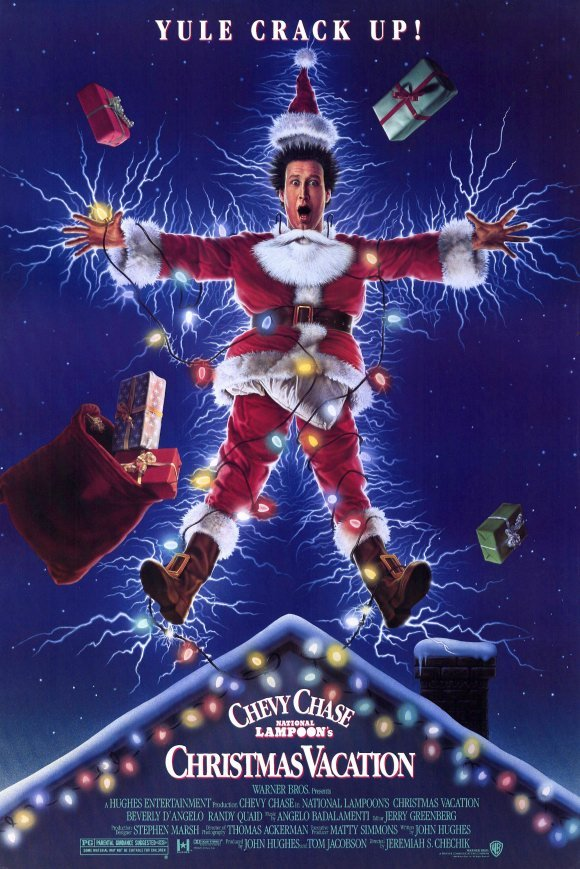 National Lampoons Christmas Vacation movie poster 580x869