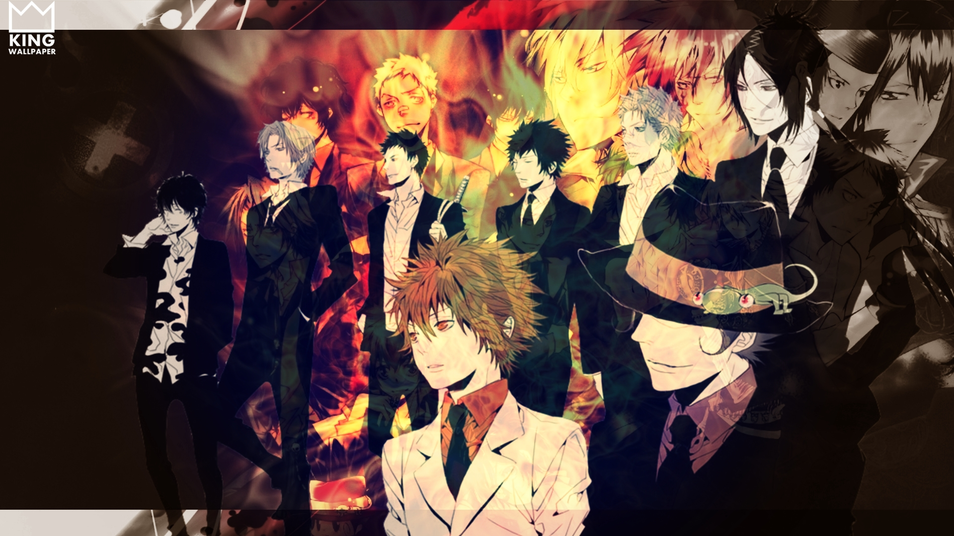 Katekyo Hitman Reborn Wallpaper by Kingwallpaper 1920x1080