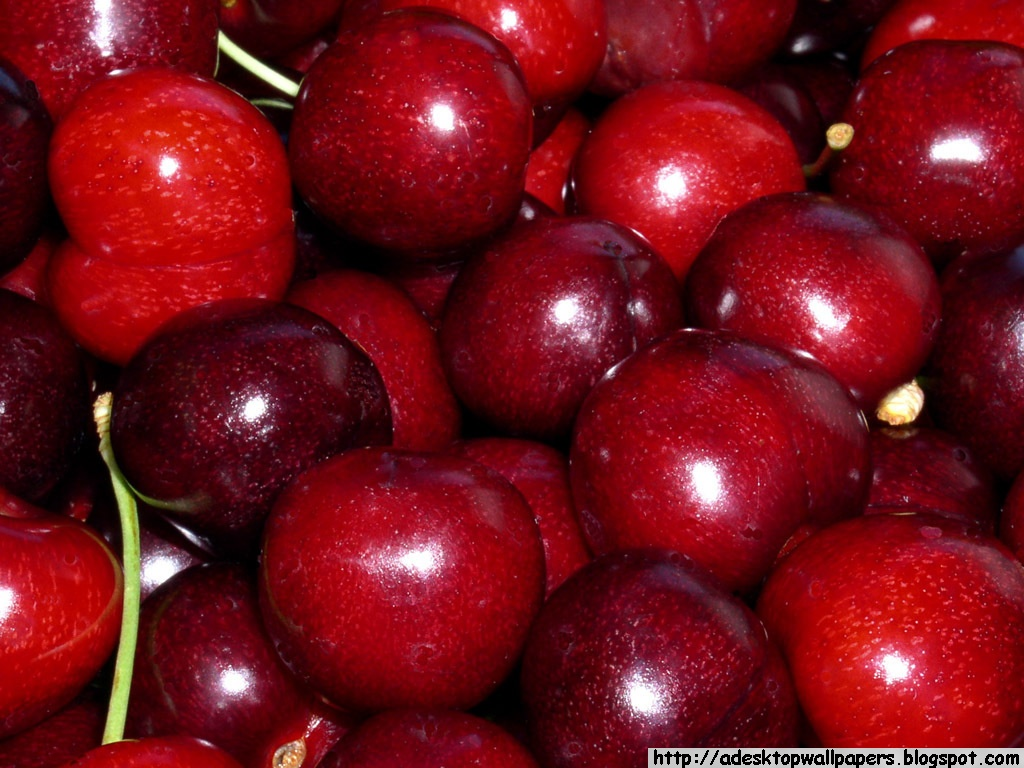 Cherries Fruit Desktop Wallpapers PC Wallpapers Wallpaper 1024x768