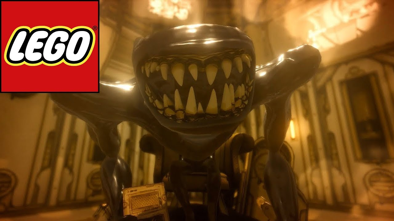 How to build Lego Beast Bendy from Chapter 5 Bendy and the Ink 1280x720