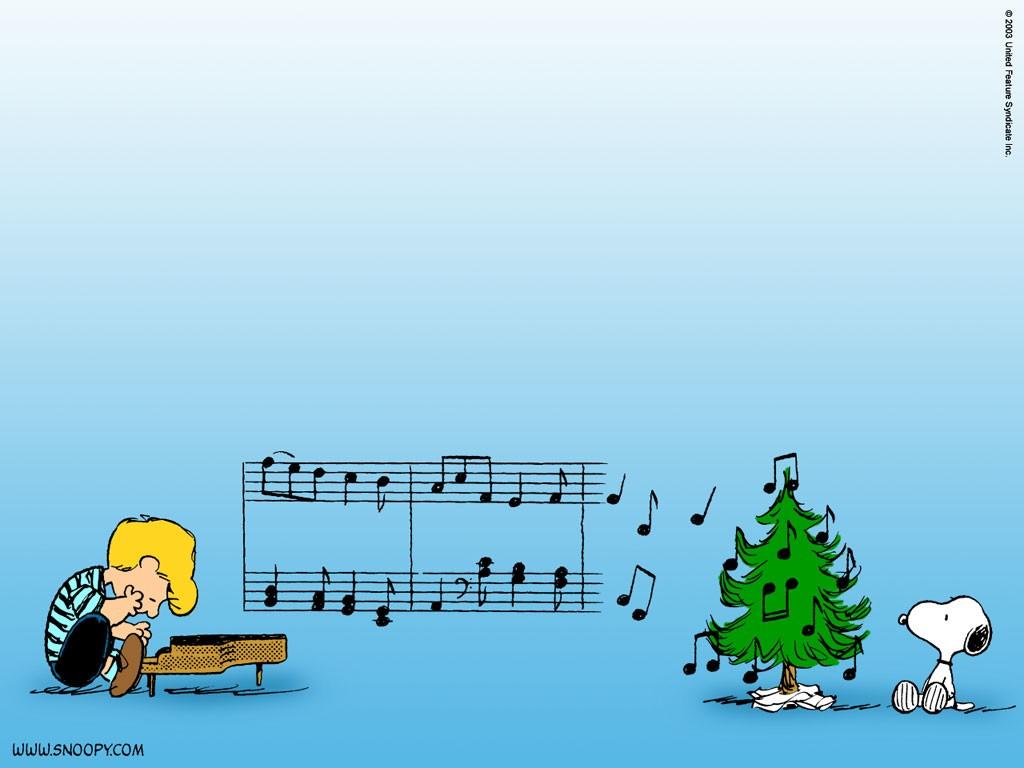 Peanuts   Christmas Wallpaper 437314 1024x768