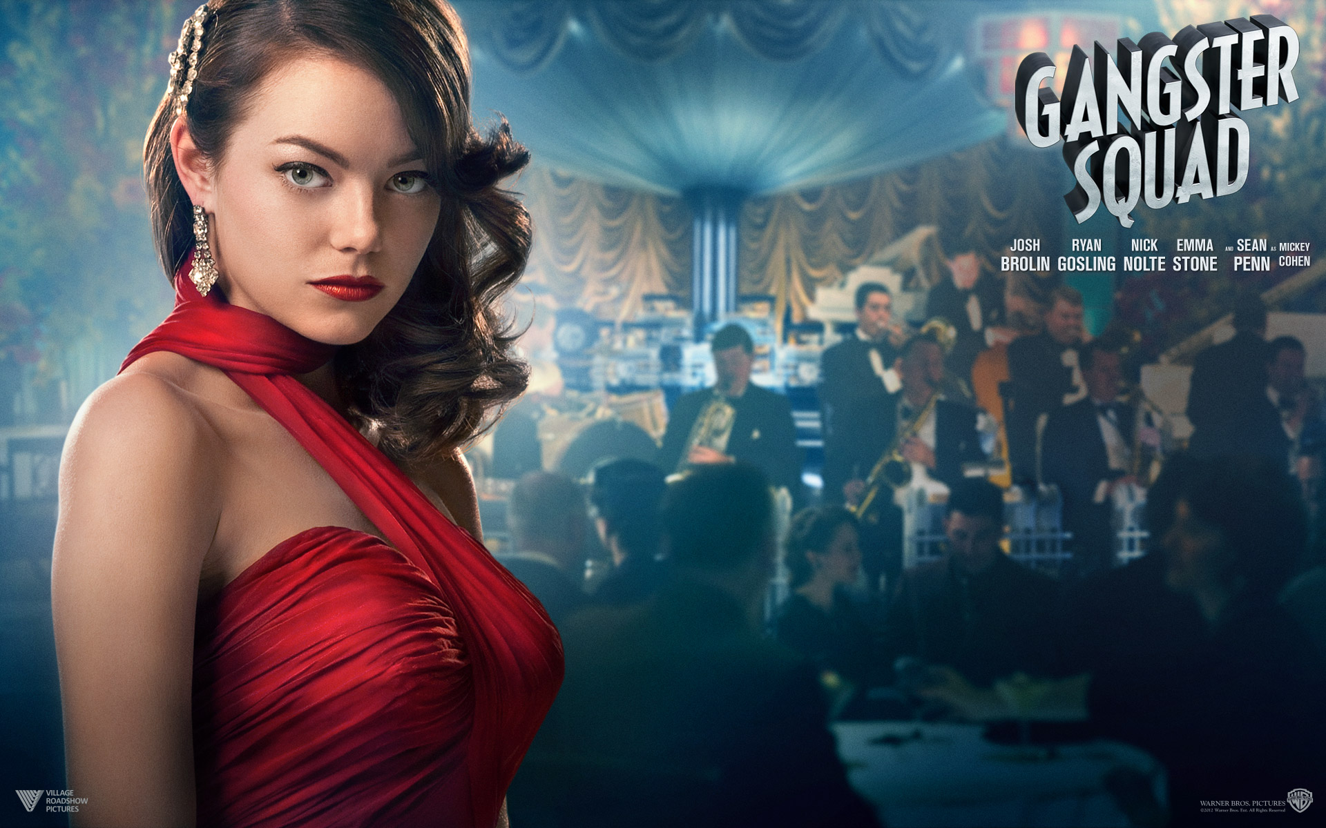 Emma Stone in Gangster Squad Wallpapers HD Wallpapers 1920x1200