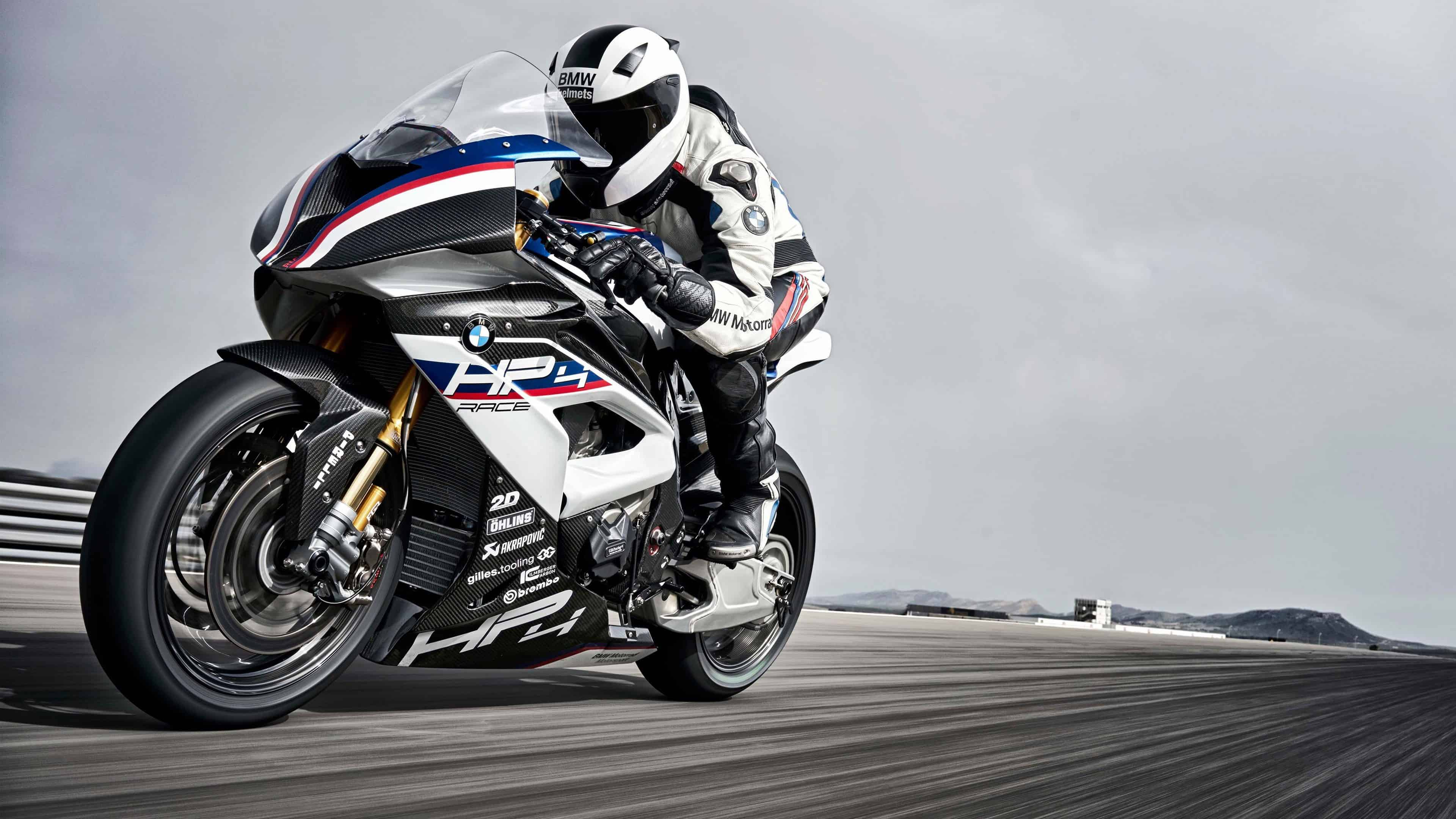 BMW HP4 Bike UHD 4K Wallpaper Pixelz 3840x2160