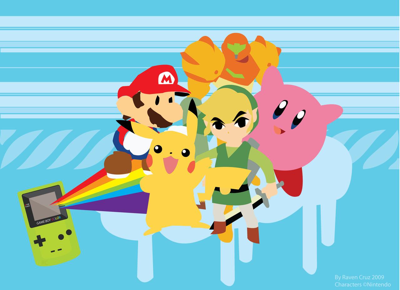 Gaming Rocks On Game Art 25 Nintendo Gallery 1280x930