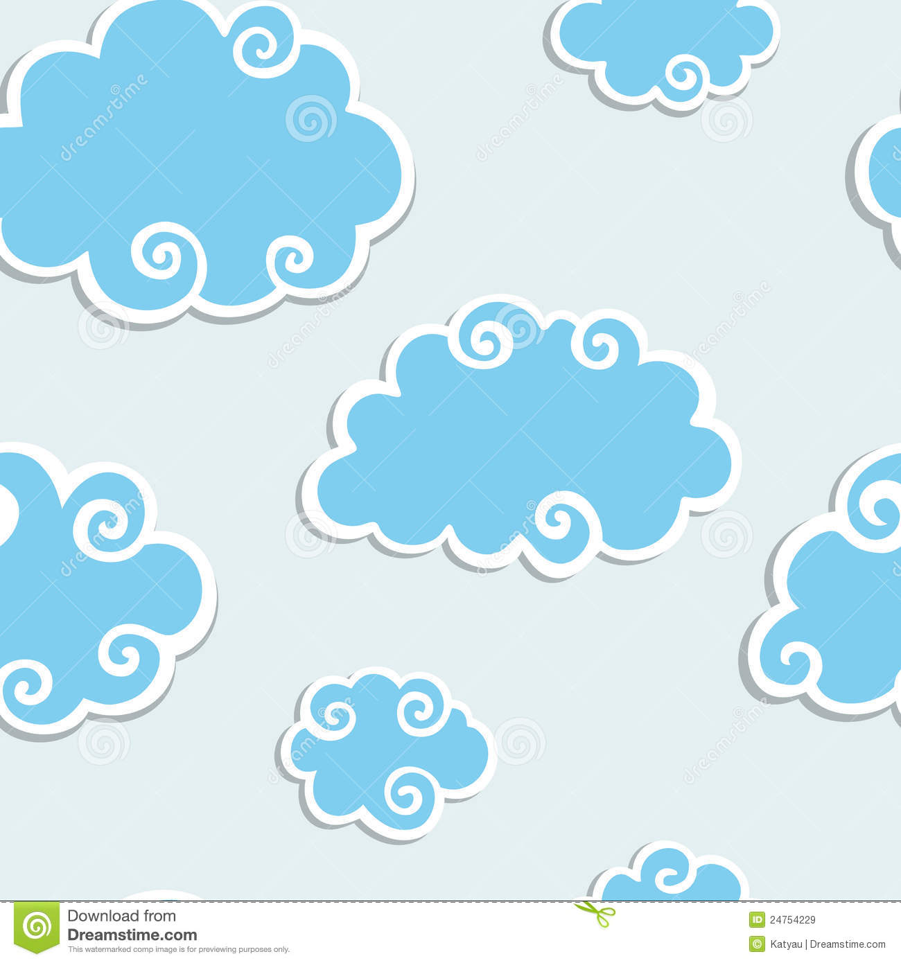 Clouds White Border Seamless Pattern   1300x1390 iWallHD   Wallpaper 1300x1390