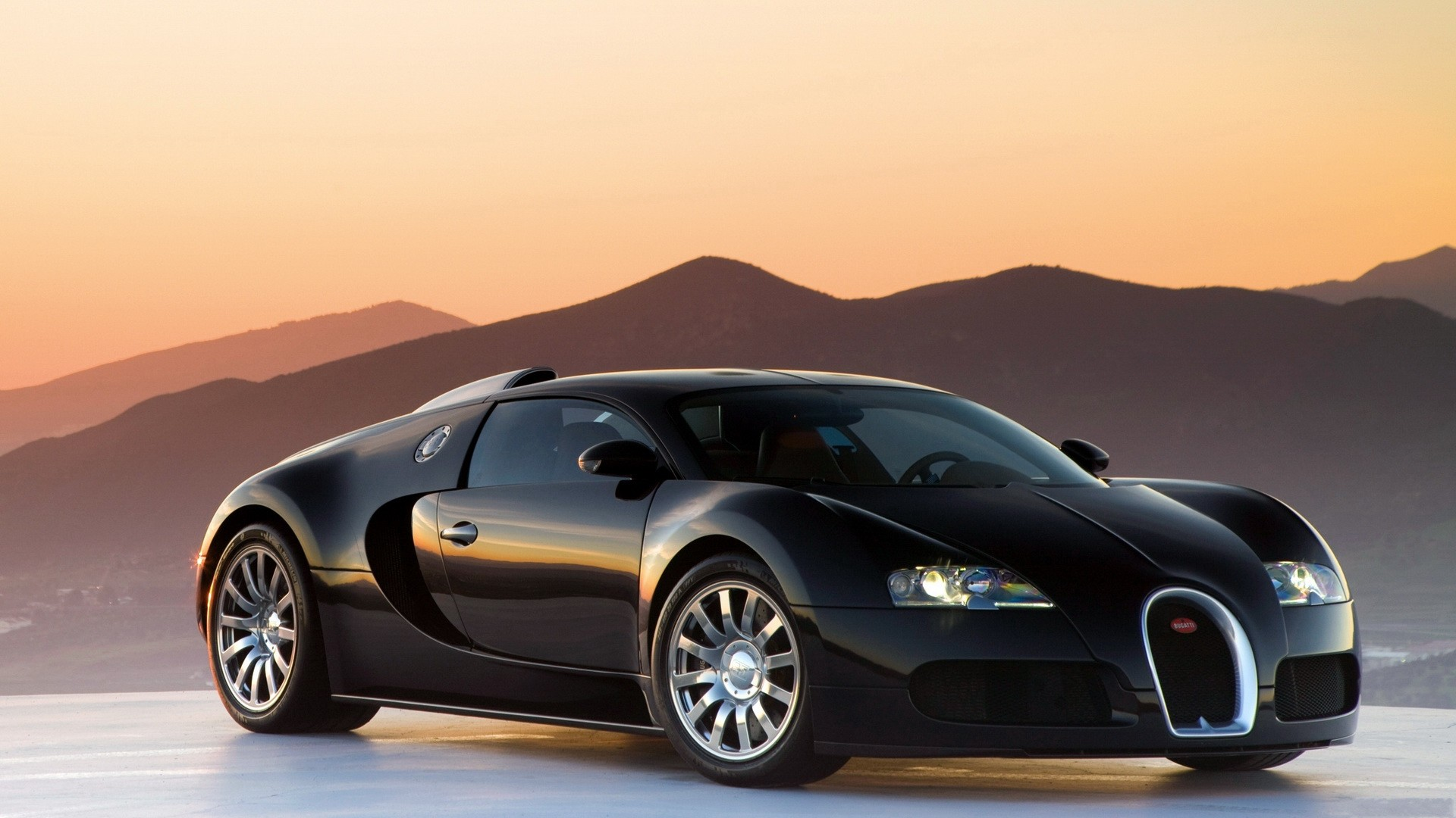 Black Bugatti Veyron Image Wallpaper Pc Wallpaper 1920x1080