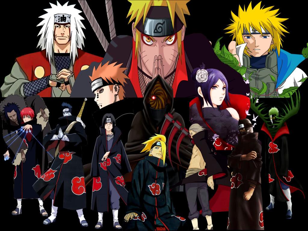 Naruto Wallpaper Akatsuki HD dekstop wallpapers   Naruto Wallpaper 1024x768