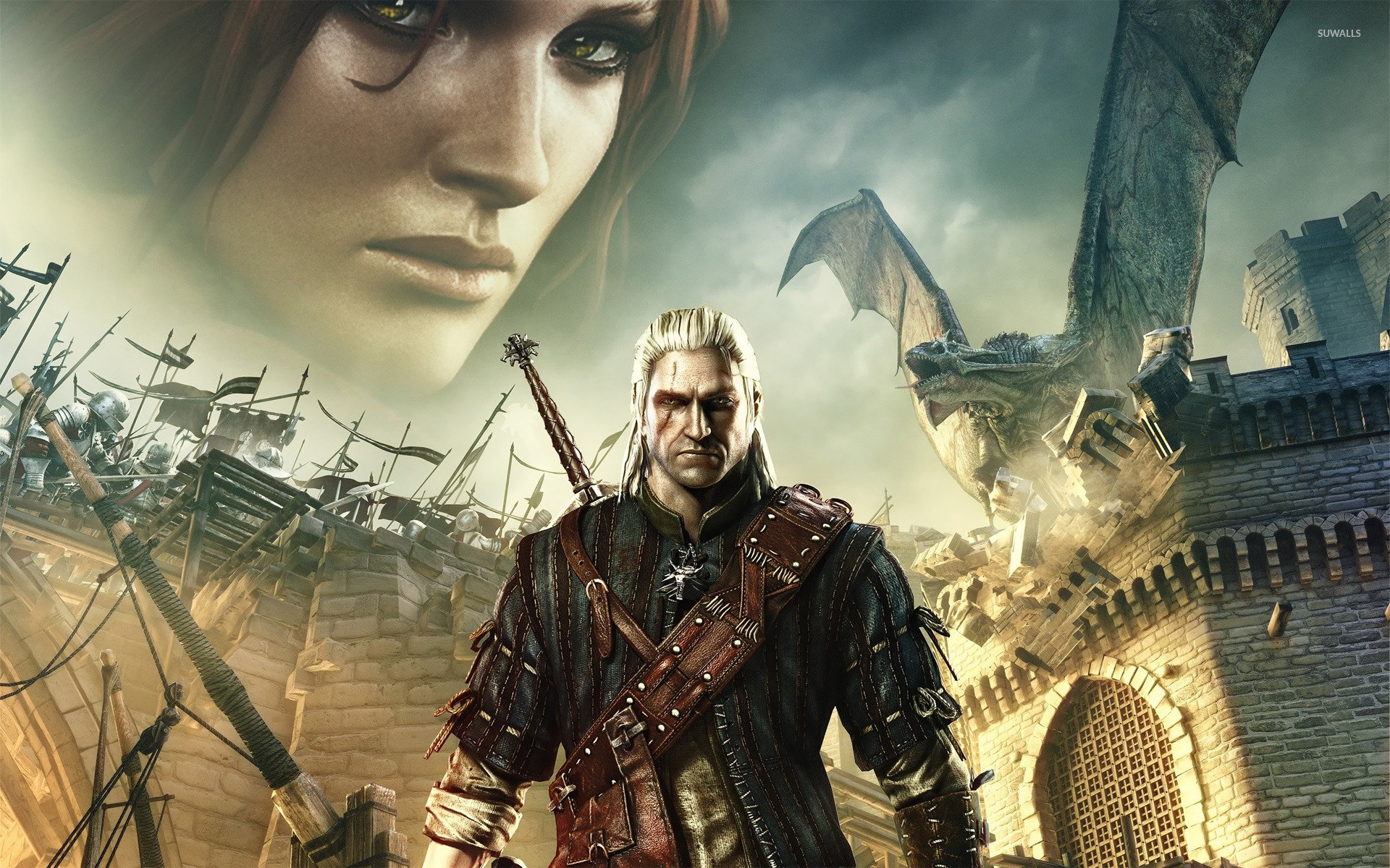 The Witcher 2 Assassins of Kings wallpaper   Game wallpapers   16126 1920x1200